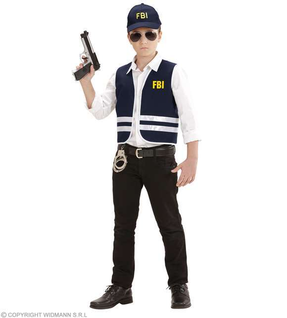 Costume Set FBI : veste + casquette