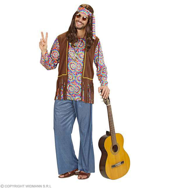 Costume adulte homme hippie