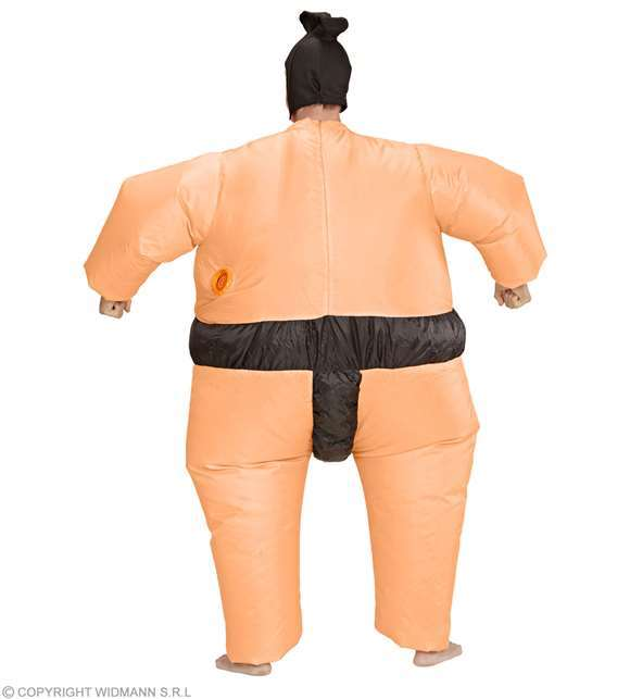 Costume adulte sumo gonflable