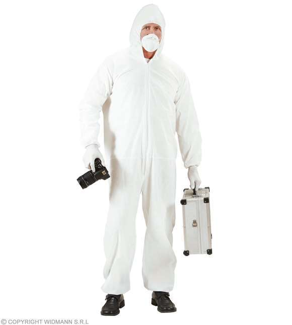 Costume adulte experts police scientifique M/L