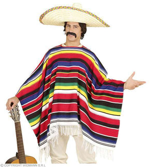 Poncho mexicain authentique