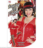Costume adulte robe Charleston flapper rouge