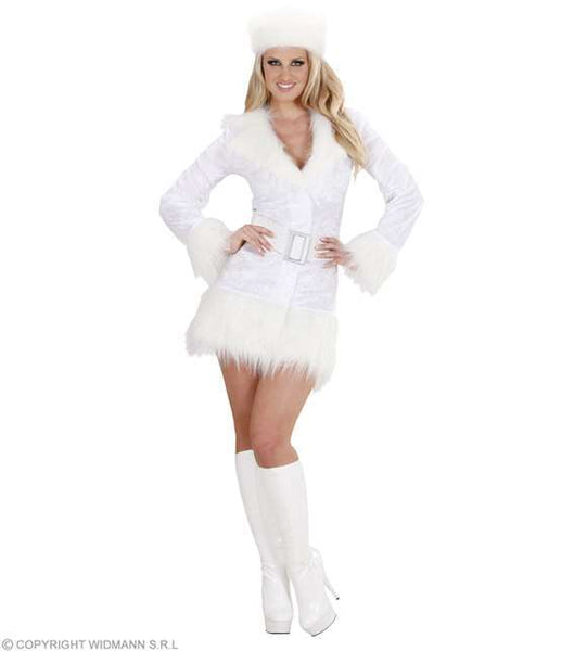 Costume blanc Russe Sibérienne adulte