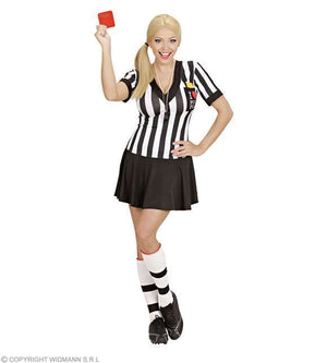 Costume adulte femme arbitre football