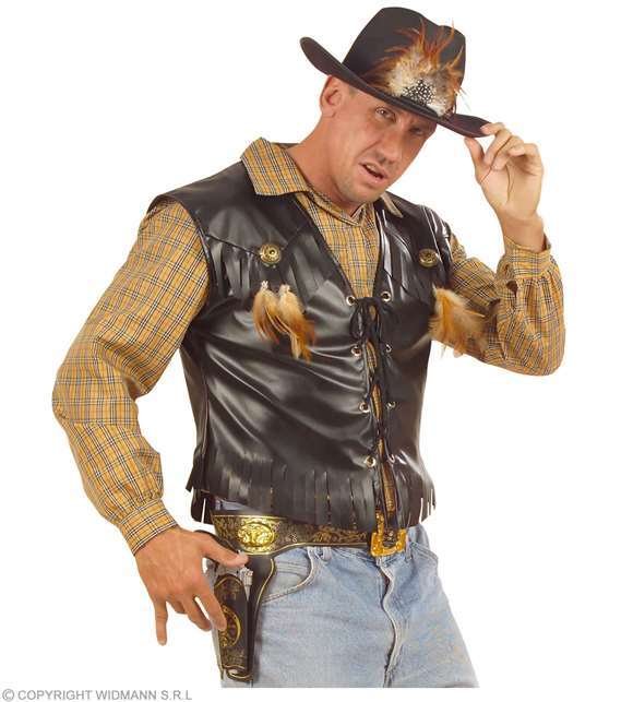 Étui pistolet cow-boy