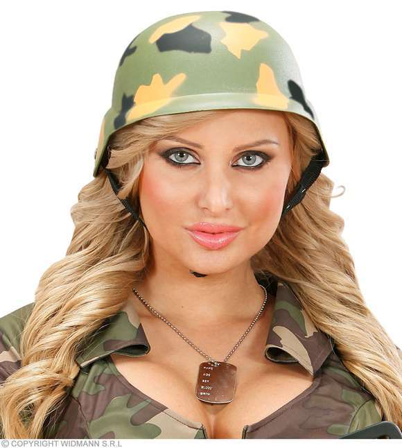 Casque militaire camouflage