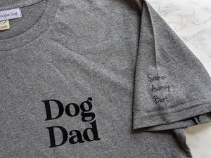 Dog Dad Personalised t-shirt
