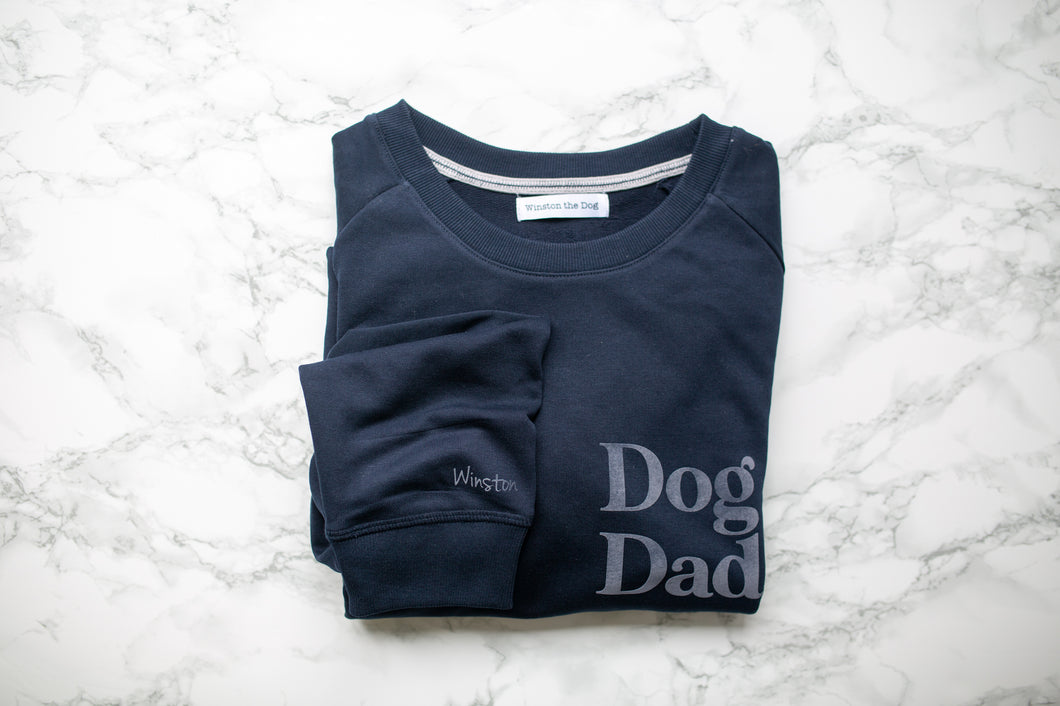 Dog Dad Personalised Sweatshirt