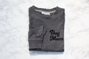Personalised Dog Mum sweatshirt