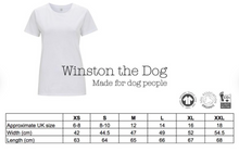 Load image into Gallery viewer, Personalised Dog Mum White t-shirt