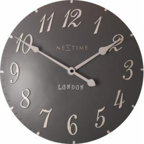 NeXtime 3084gs London Arabic [34.5cm, grijs/wit]
