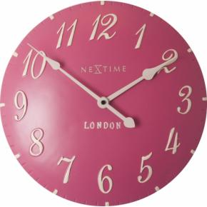 NeXtime 3084rz London Arabic [34.5cm, roze/wit]