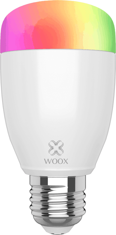 WOOX R5085 Diamond Smart E27 LED lamp RGB & warm wit (4-pack)
