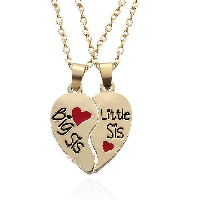 Sisters Puzzle Necklace