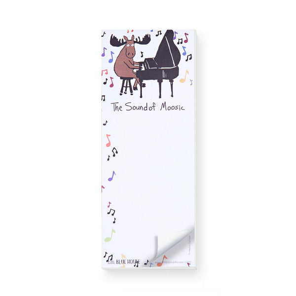 The Sound of Moosic Magnetic Notepad