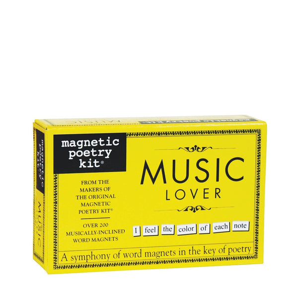 Music Lover Magnetic Poetry Kit