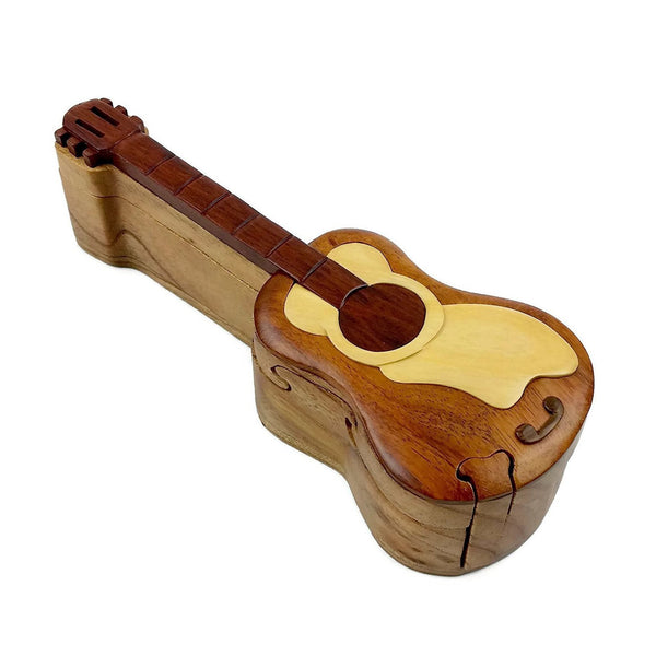 Guitar Wood Puzzle Box