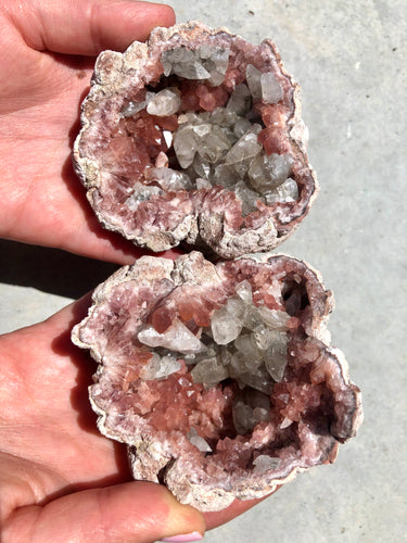 Pink Amethyst Whole Geode 004