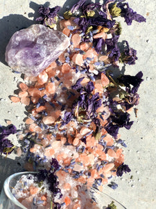 Calm Bath Soak - Amethyst Infused