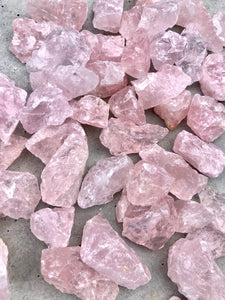 Small Rose Quartz Rough Chunk