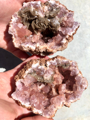 Pink Amethyst Whole Geode 001