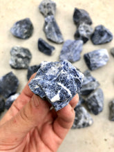 Load image into Gallery viewer, Small Sodalite Rough Chunk