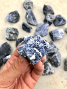 Small Sodalite Rough Chunk