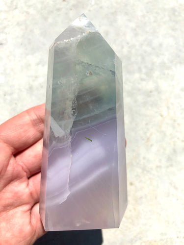 Lavender Fluorite Tower 004