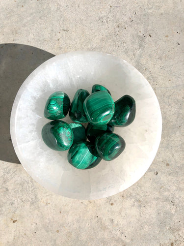 Malachite - Tumbled Stone