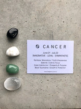 Load image into Gallery viewer, Cancer Zodiac Crystal Kit