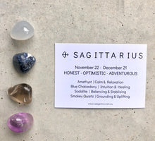 Load image into Gallery viewer, Sagittarius Zodiac Crystal Kit