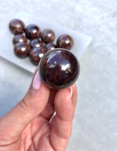 Load image into Gallery viewer, Garnet Mini Sphere 005