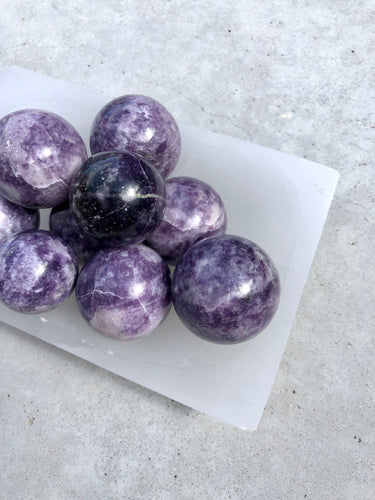 Lepidolite Sphere - Intuitively Selected
