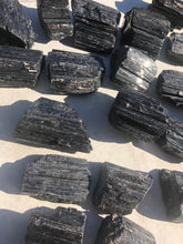 Load image into Gallery viewer, Black Tourmaline Chunk - Luxe Gem Co.