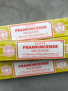 Satya FRANKINCENSE Incense - Luxe Gem Co.