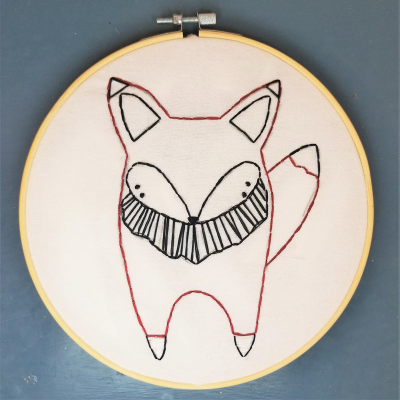 Woodland Stitch-A-Long: Fox Portrait