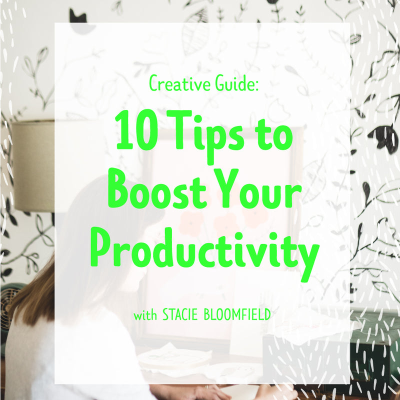 10 Tips to Boost Your Productivity