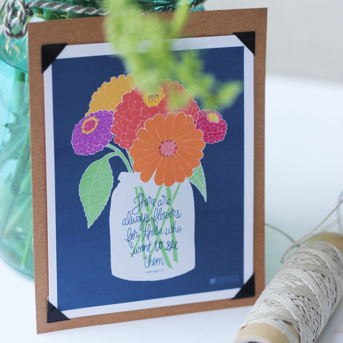 Free Printable Farmers Market Card Gingiber