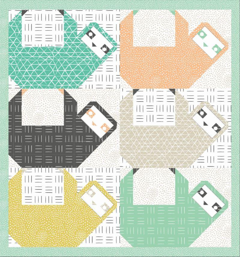 Corrections for Sloth Sightings Quilt Pattern