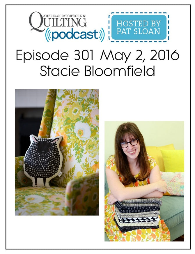 Stacie Bloomfield Interview with Pat Sloan