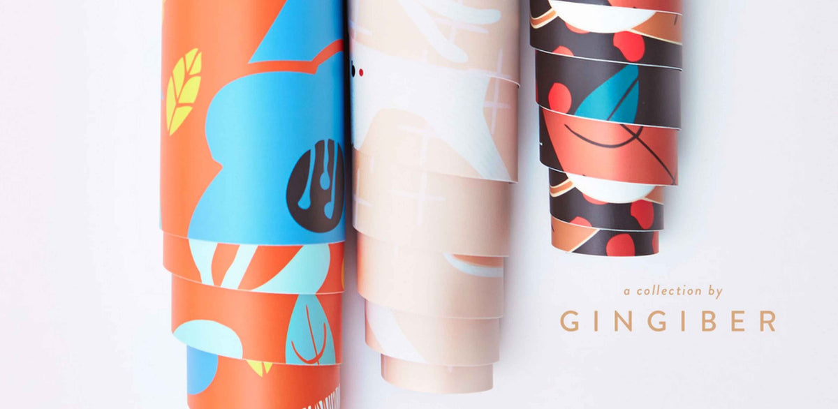Wallpaper for Chasing Paper: a Collaboration with Gingiber