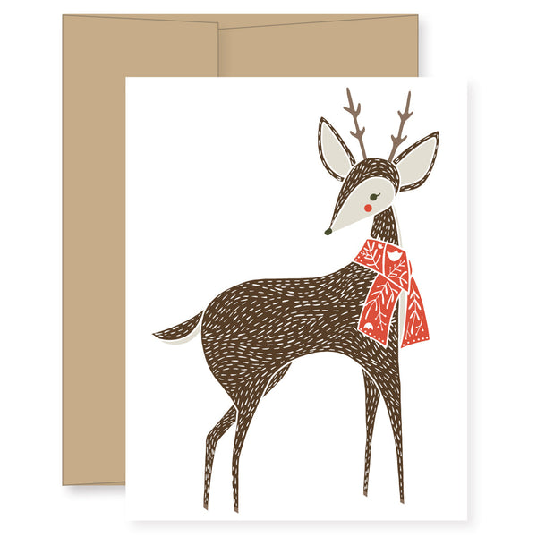 Merriment Deer Card