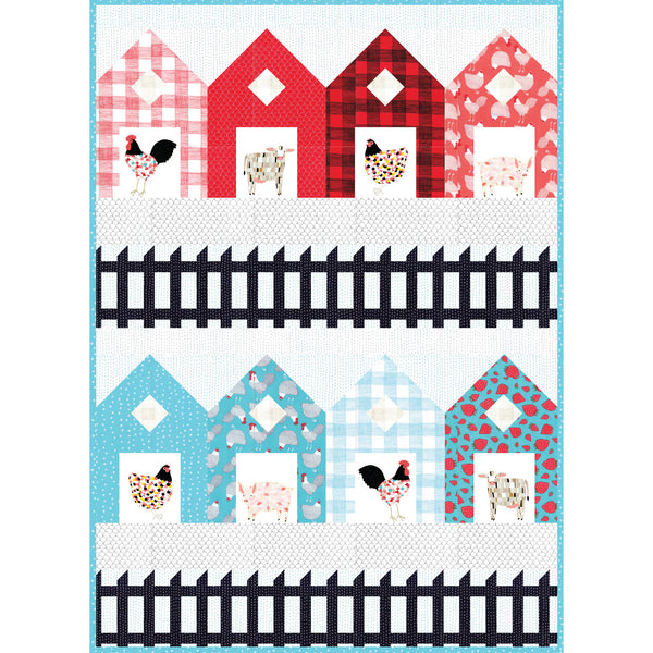 Fences Quilt Pattern - PDF VERSION