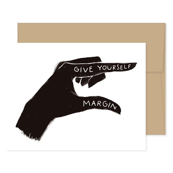 Give Yourself Margin Card