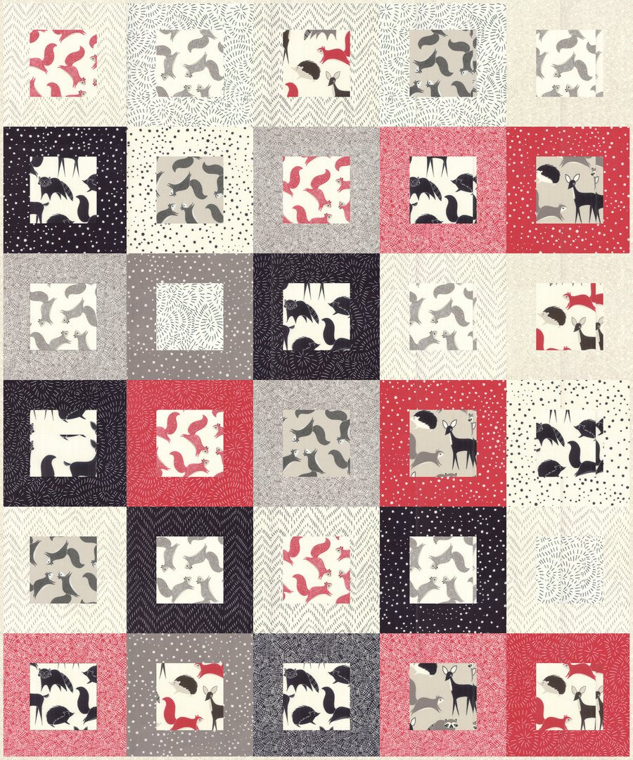Motif Quilt Pattner - PDF VERSION