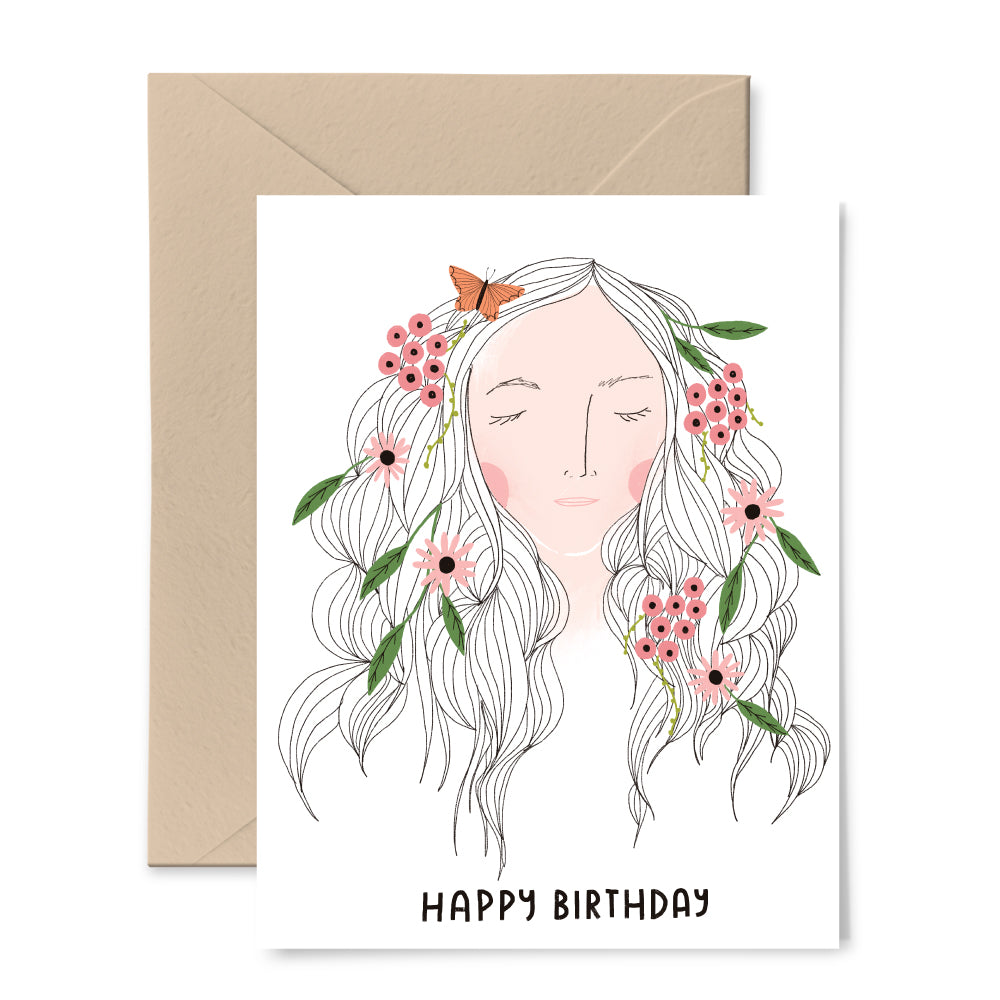 Enjoyable Mother Nature Birthday Card Gingiber Personalised Birthday Cards Veneteletsinfo