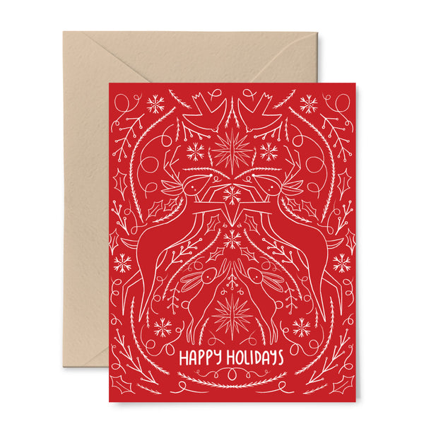 Scandinavian Holiday Red Card