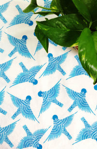 Bluebird Tea Towel (Preorder)