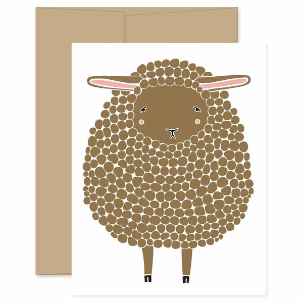 Brown Sheep Card