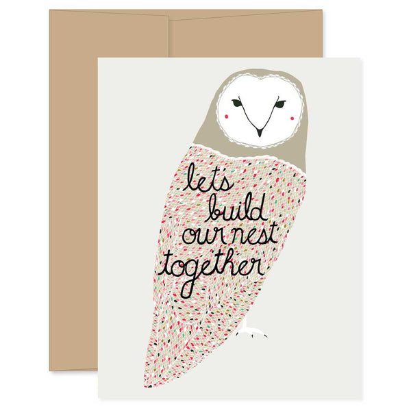 Build Our Nest Together Card